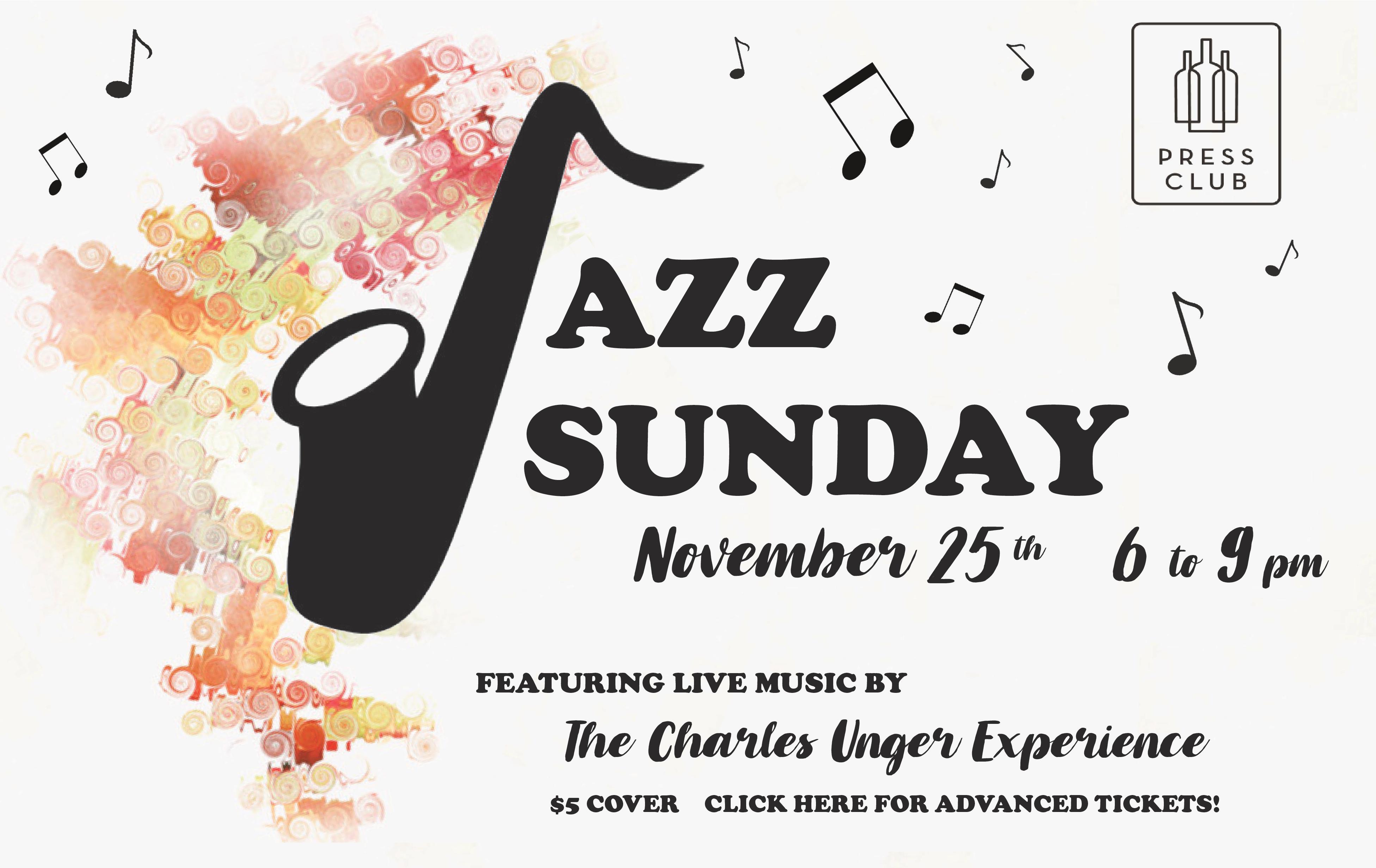 JPG -WEBSITE - Jazz Sunday 11.25.18